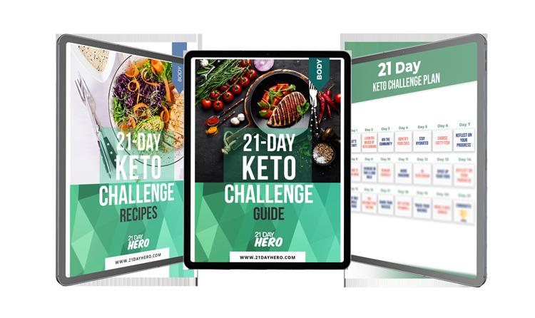 Keto Challenge 21 Day Hero